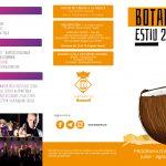 Programa activitats estiu a Botarell