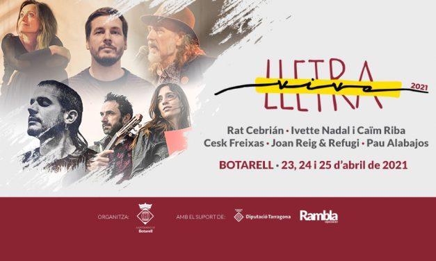 I Festival Lletra Viva de Botarell
